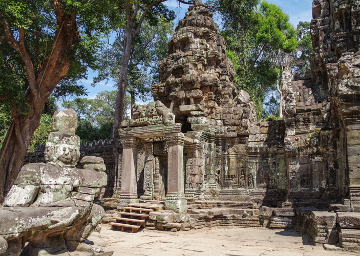 Preah Khan Temple Photo